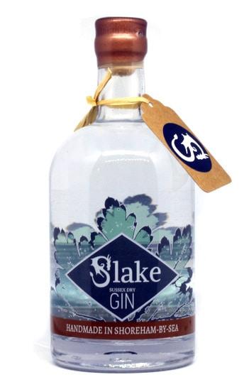 Slake Sussex Dry Gin Bottle