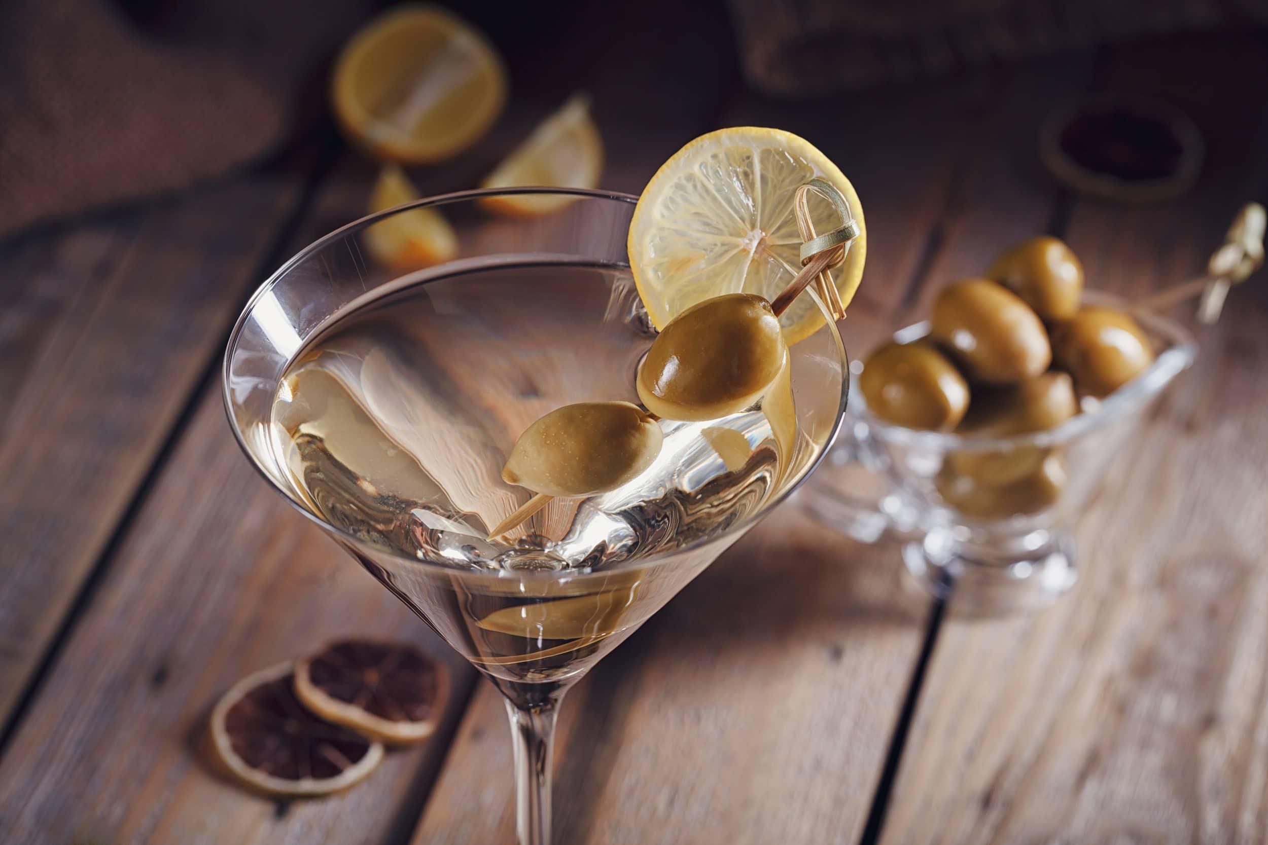 Bianco cocktail wodka martini Lychee Martini