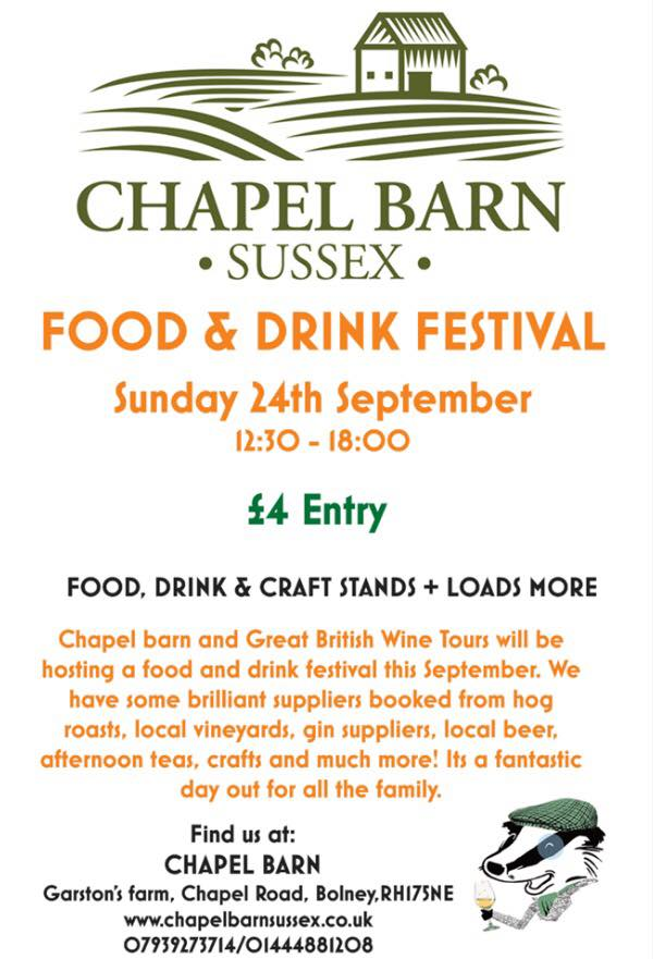 Chapel Barn Food and Drink Festival Wedding fair and open day 2017