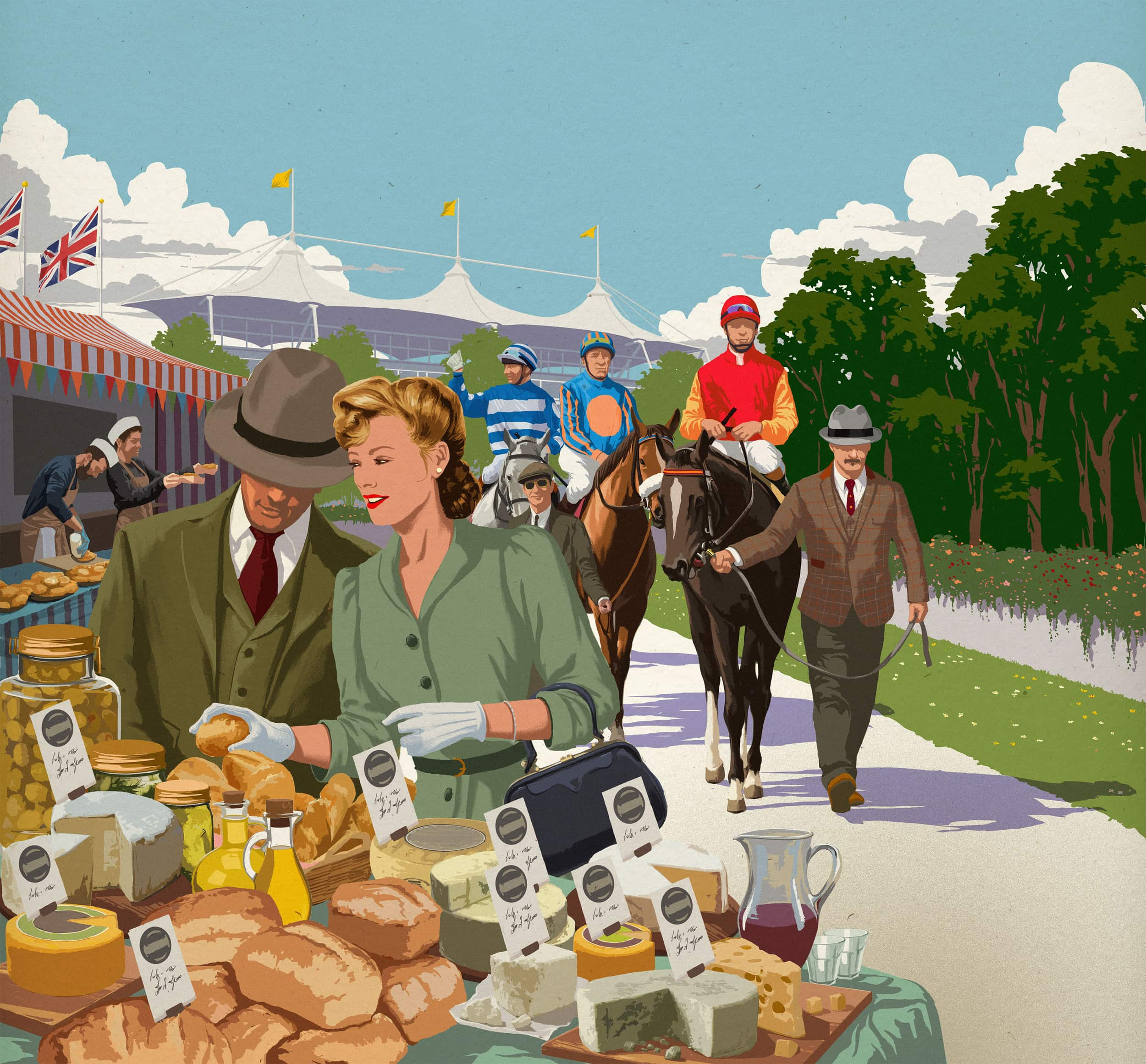 Goodwood Food Fest Artwork 2018