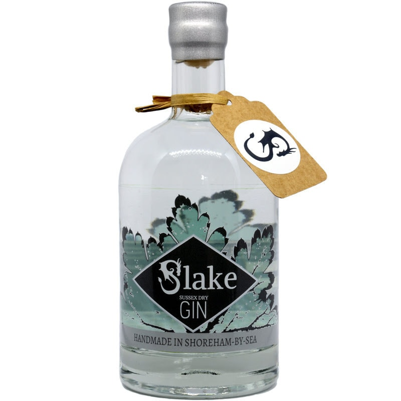 Slake Sussex Dry Gin Bottle
