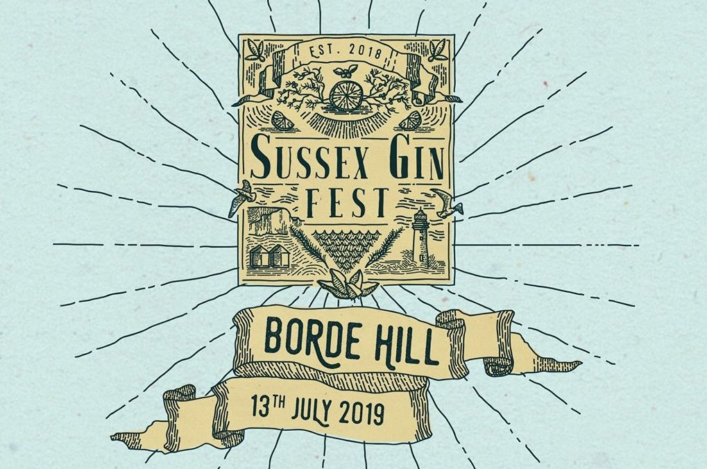 Sussex Gin Fest poster