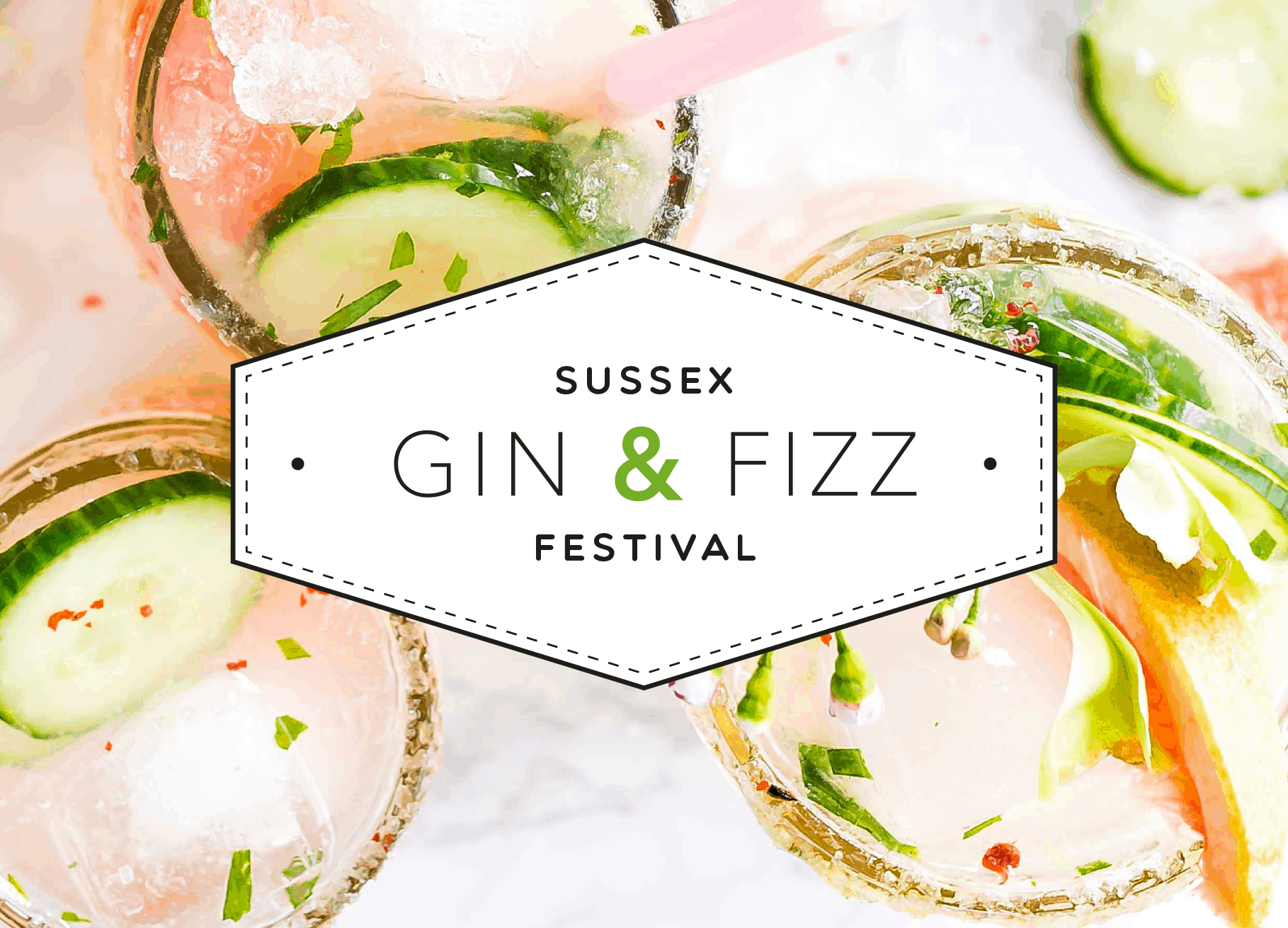 Sussex Gin & Fizz Festival poster