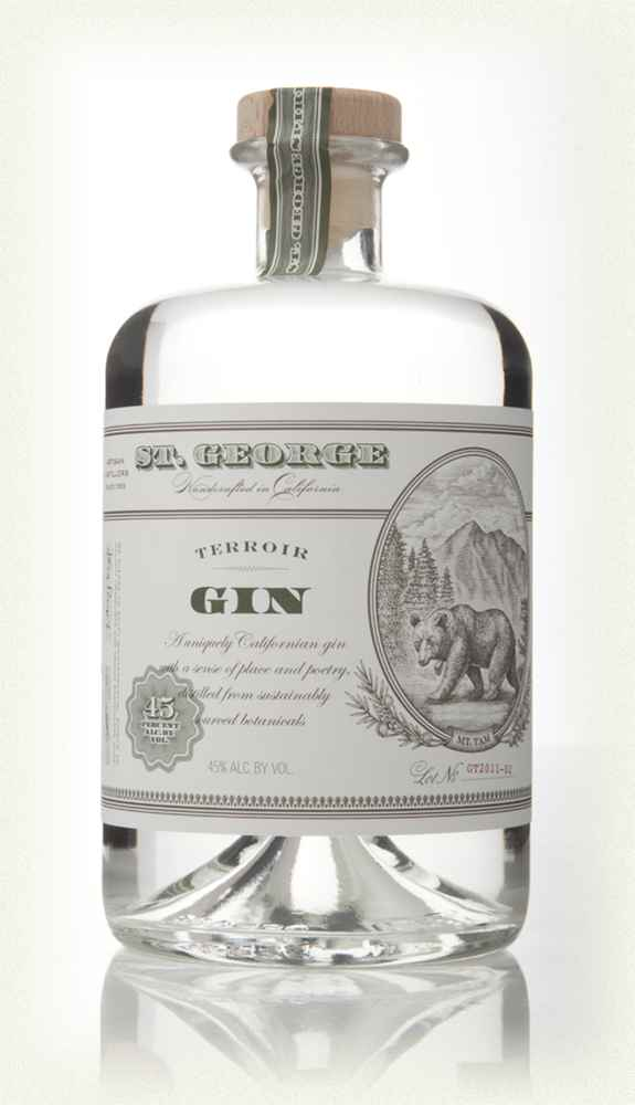 St George Spirits - Terroir Gin - An example of a gin brand using the term terroir. link to www.stgeorgesspirits.com