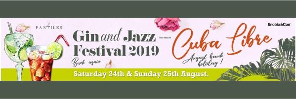 Gin and Jazz at the Pantiles poster 2019