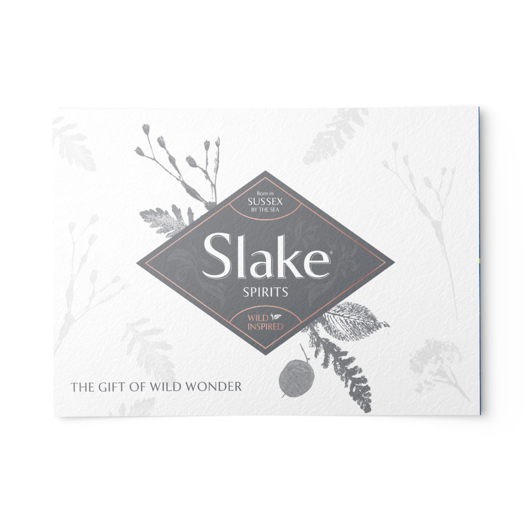 Slake Spirits Gift Voucher Front