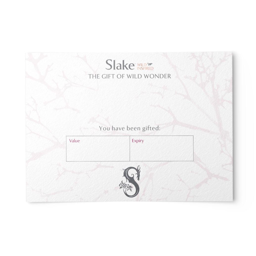 Slake Spirits Gift Voucher Back