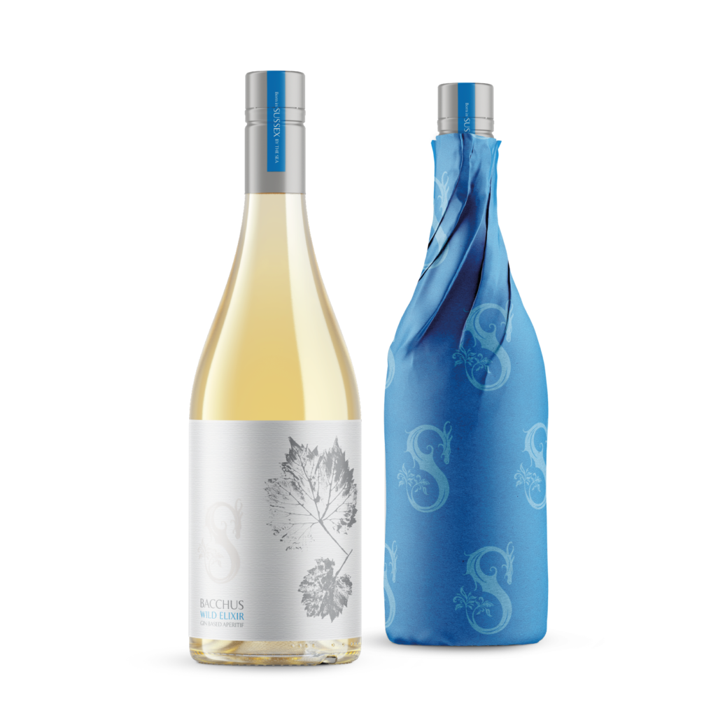 Wild Elixir Bacchus Gin-based Sussex Aperitif Wrapped & Unwrapped Bottles 750ml