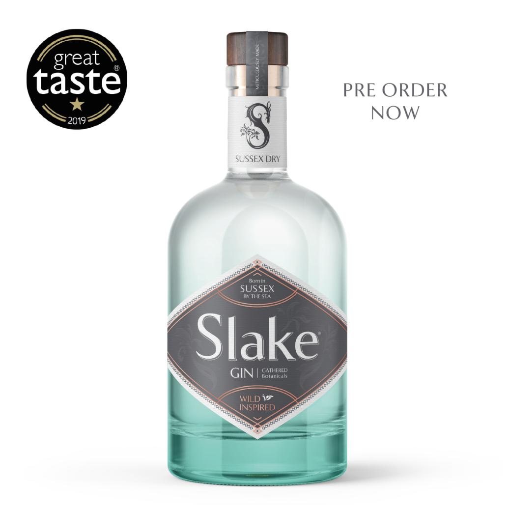 Slake Spirits Sussex Dry Gin Bottle