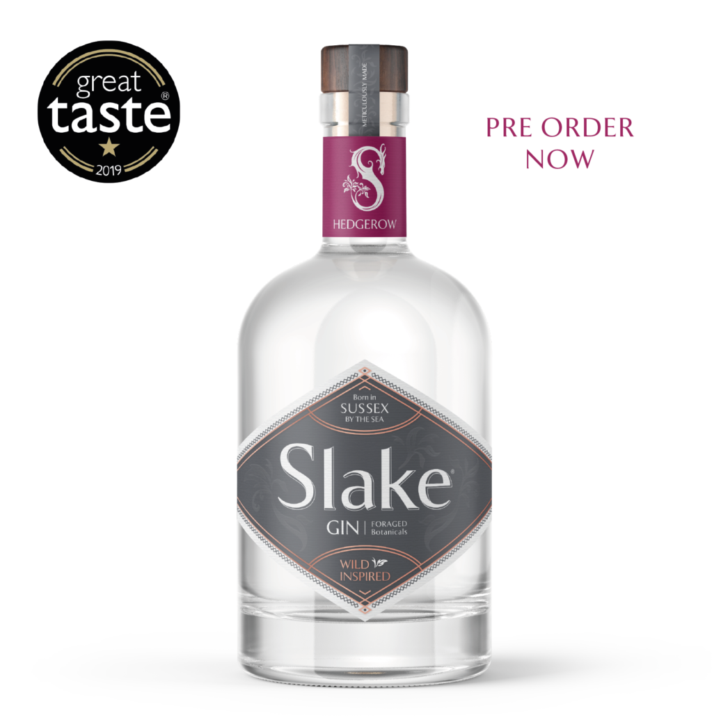 Slake Spirits Hedgerow Gin Bottle